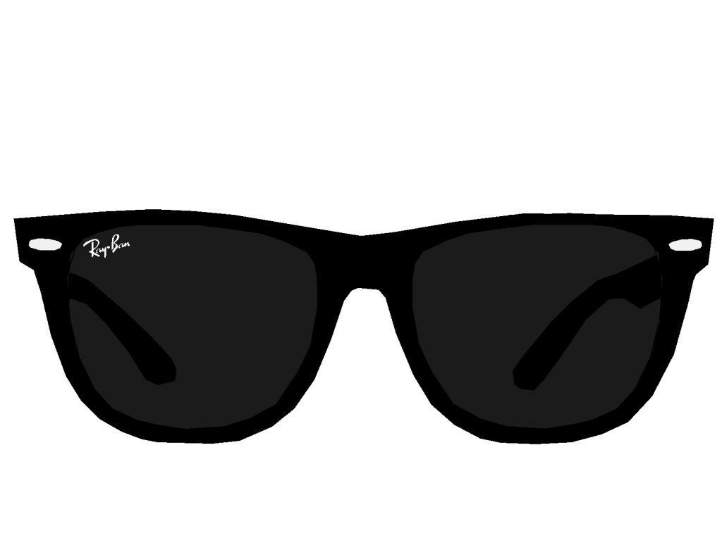 sale ray ban aviator black glasses vector c39d6 51fce sales clipart sale clip art free image